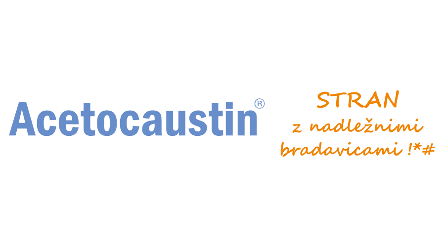 Acetocaustin Logo Vector