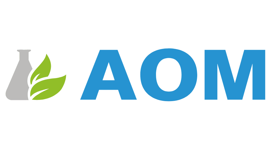Advanced Organic Materials (AOM) Logo Vector