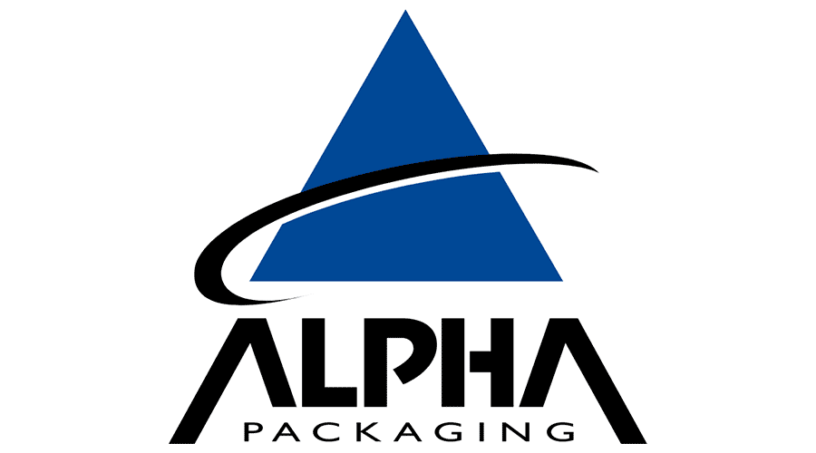 Alpha Packaging Logo Vector