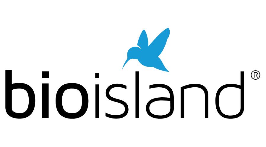 Bio Island Logo Vector