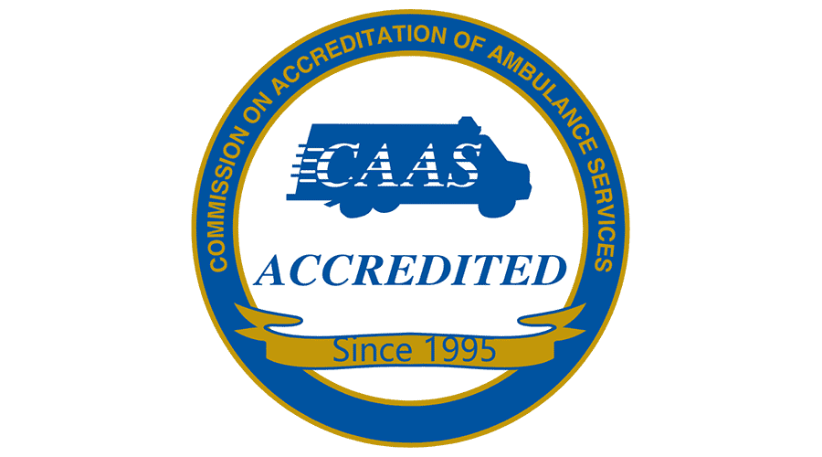 Commission on Accreditation of Ambulance Services (CAAS) Accredited Logo Vector