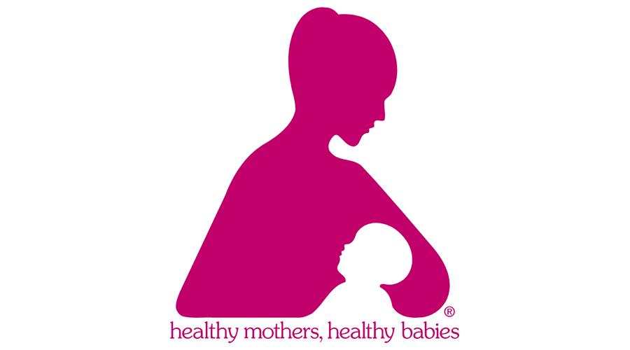 Healthy Mothers, Healthy Babies Logo Vector