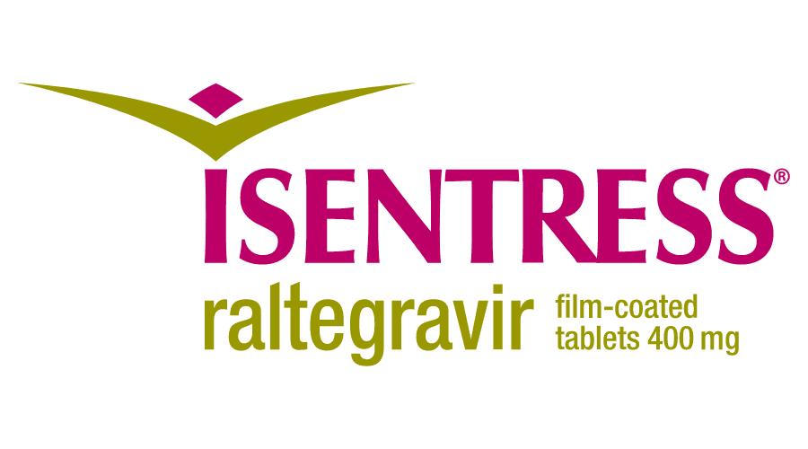ISENTRESS raltegravir film-coated tablets Logo Vector