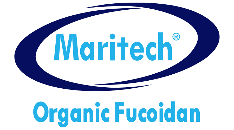 Maritech Organic Fucoidan Logo Vector
