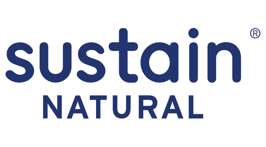 Sustain Natural Logo Vector