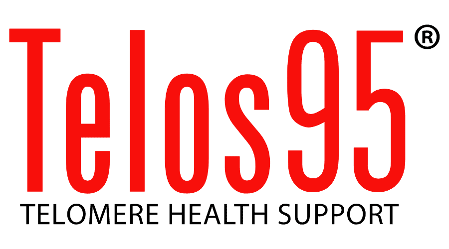Telos95 | Telomere Health Support Logo Vector