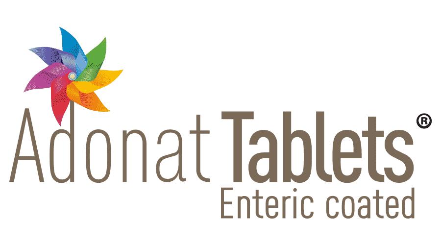 Adonat Tablets Enteric Coated Logo Vector
