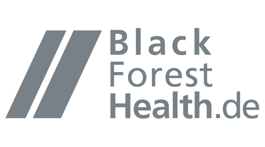 Black Forest Health Logo Vector