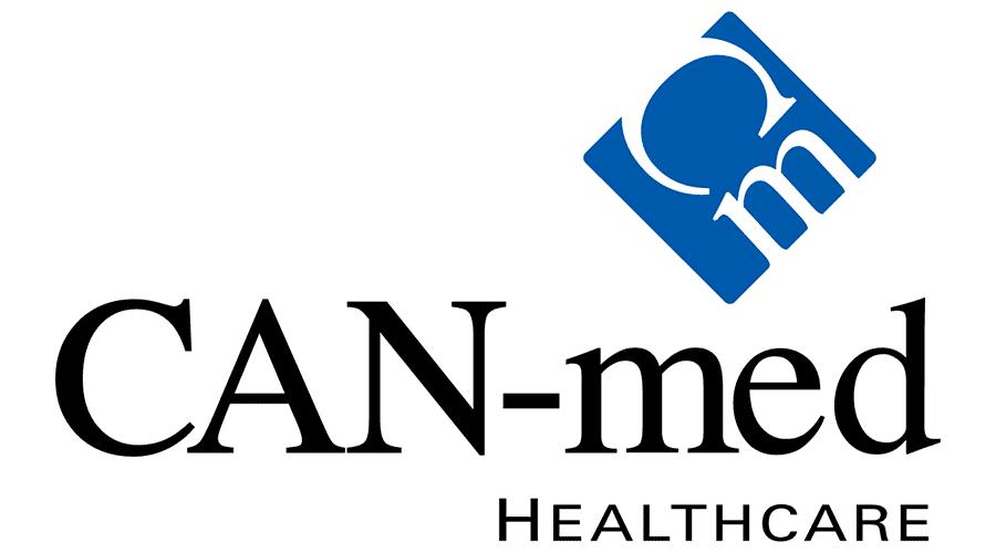 CAN-Med Healthcare Logo Vector