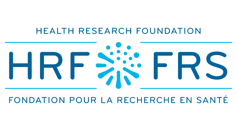 Health Research Foundation (HRF) Logo Vector
