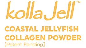 KollaJell – Coastal Jellyfish Collagen Powder Logo Vector's thumbnail