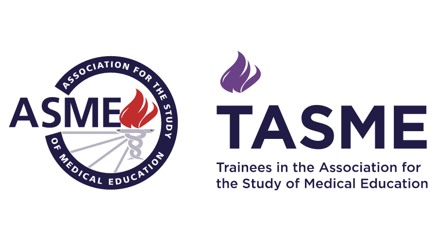 Trainees in the Association for the Study of Medical Education (TASME) Logo Vector