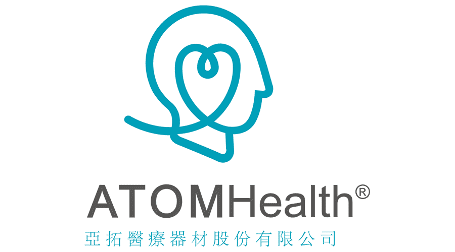 ATOM Health Corporation Logo Vector
