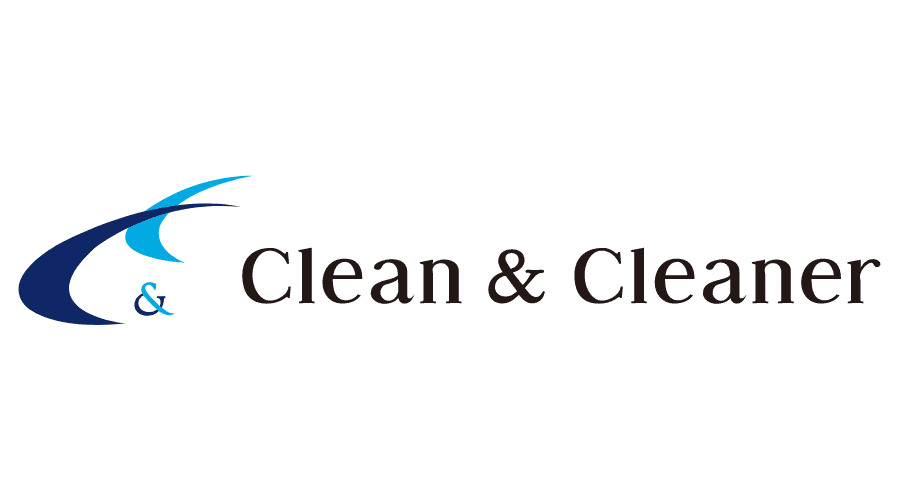 Clean & Cleaner Logo Vector