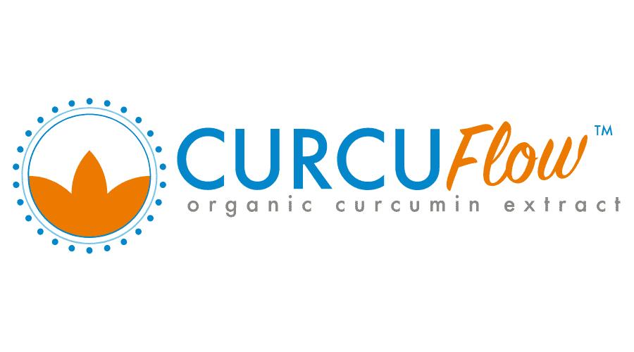 CurcuFLow organic curcumin extract Logo Vector