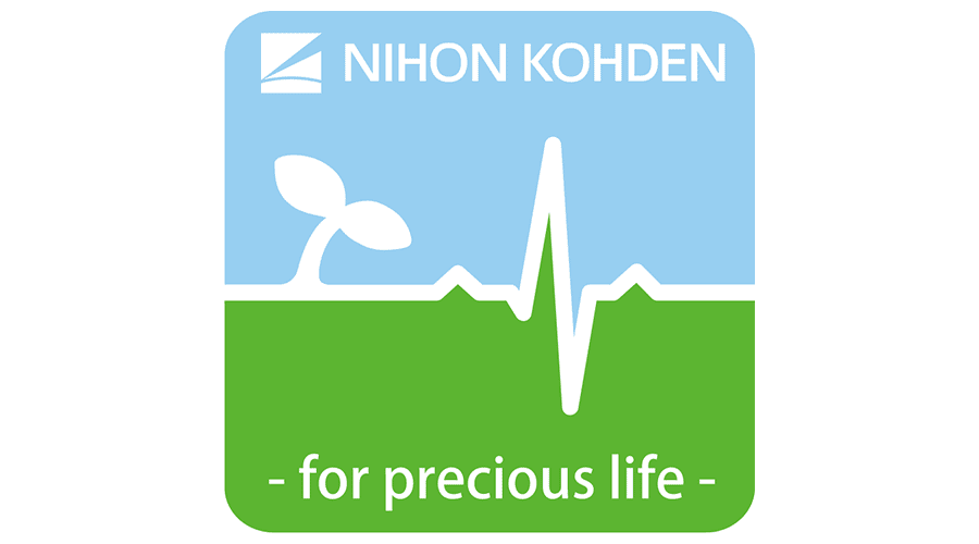 Nihon Kohden for precious life Logo Vector