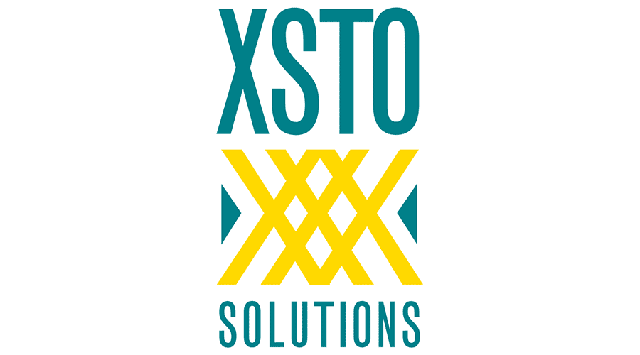 XSTO Solutions Logo Vector