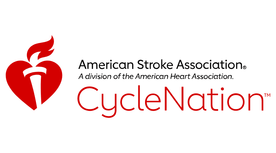 American Stroke Association CycleNation Logo Vector