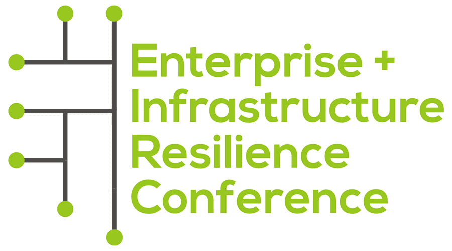 Enterprise & Infrastructure Resilience Conference Logo Vector