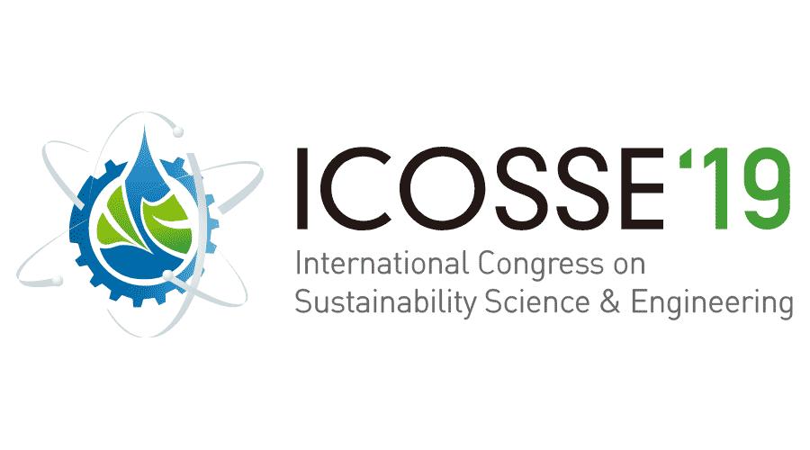 International Congress on Sustainability Science & Engineering (ICOSSE 19) Logo Vector