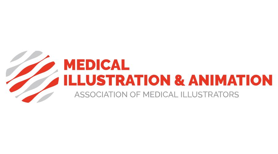 Medical Illustration & Animation Logo Vector