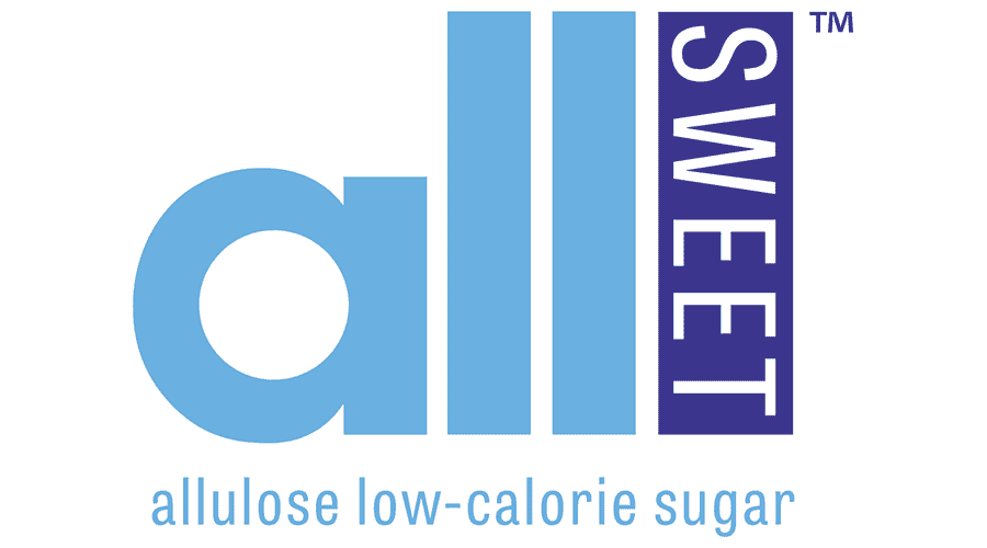 allSWEET Allulose Low-Calorie Sugar Logo Vector