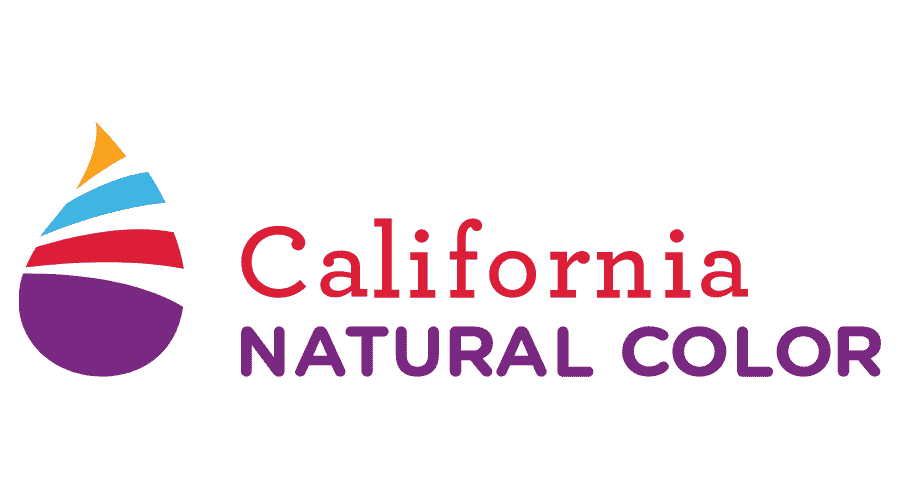 California Natural Color Logo Vector