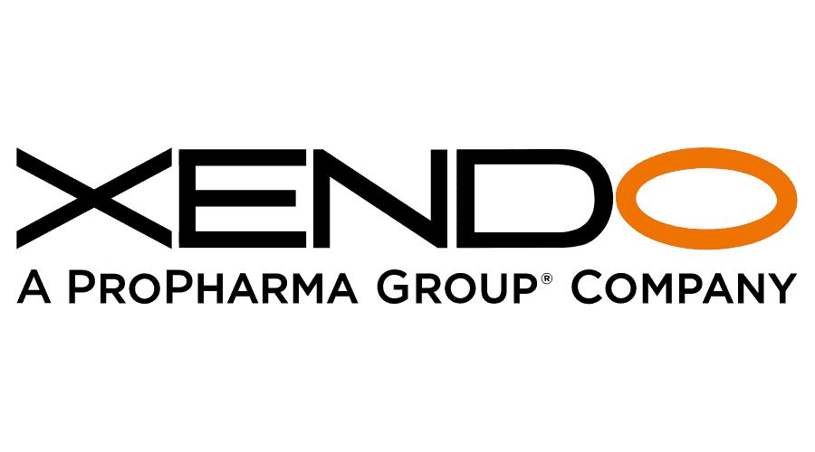 Xendo, a ProPharma Group Company Logo Vector