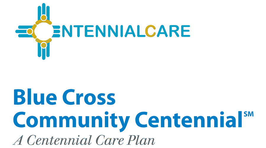 Blue Cross Community Centennial Logo Vector
