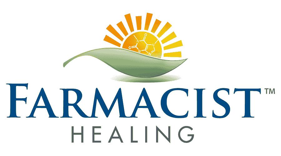 Farmacist Healing Logo Vector