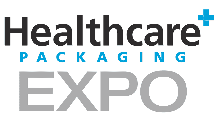 Healthcare Packaging EXPO Logo Vector