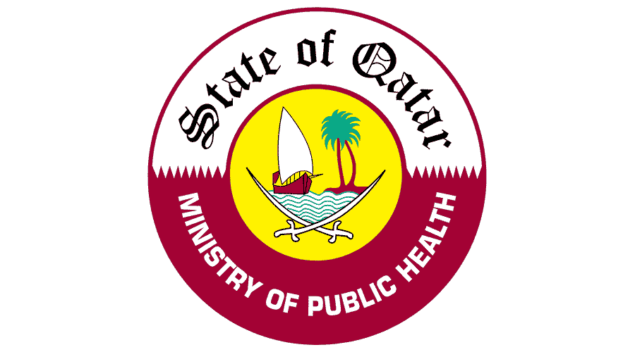 State of Qatar Ministry of Public Health Logo Vector