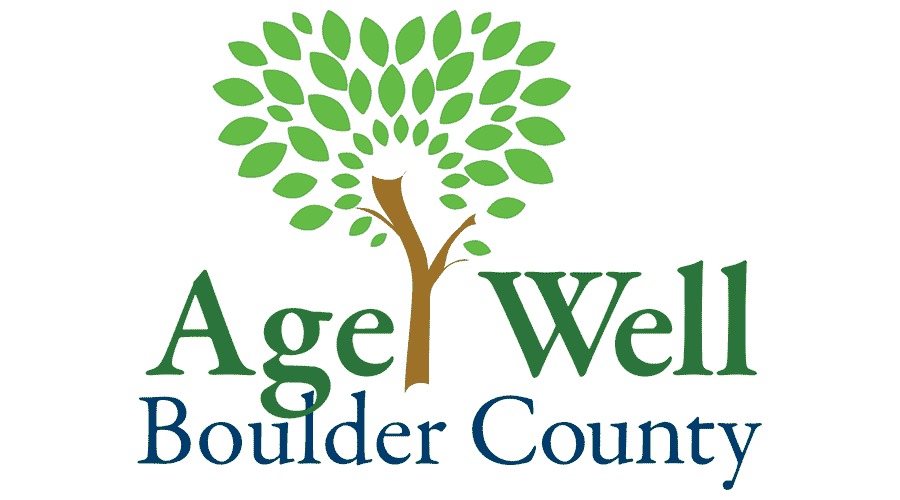 Age Well Boulder County Logo Vector