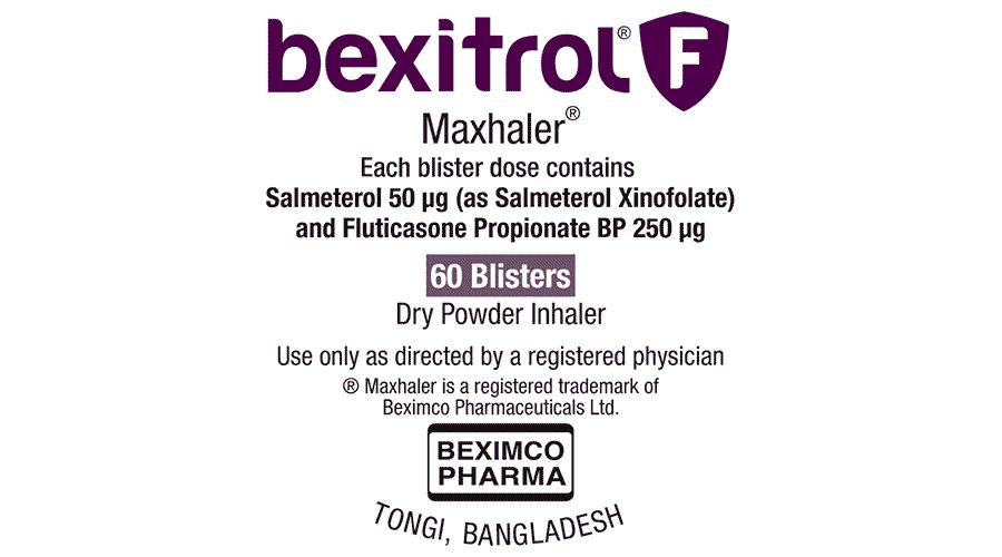 Bexitrol F Maxhaler Logo Vector