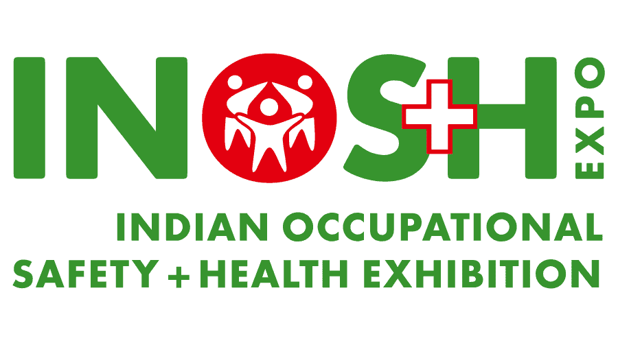 INOS+H Expo – Indian Occupational Safety + Health Exhibition Logo Vector
