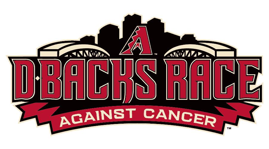 D-Backs Race Against Cancer Logo Vector