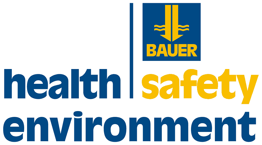 BAUER Health, Safety and Environment (HSE) Logo Vector