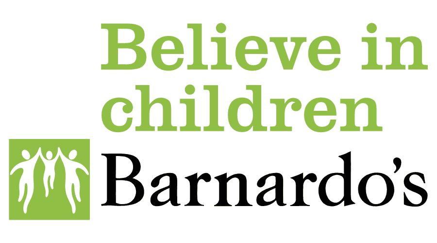 Believe in children Barnardo's Logo Vector