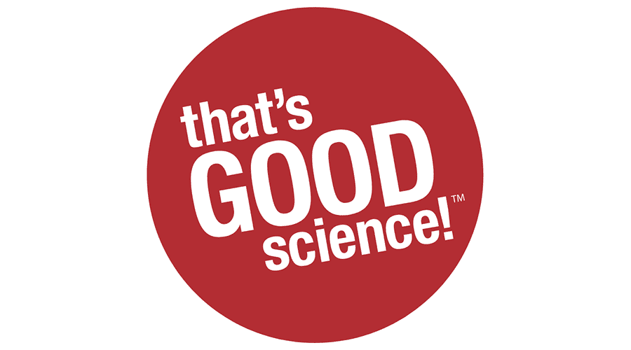That's Good Science! Logo Vector
