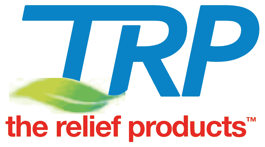The Relief Products (TRP) Logo Vector