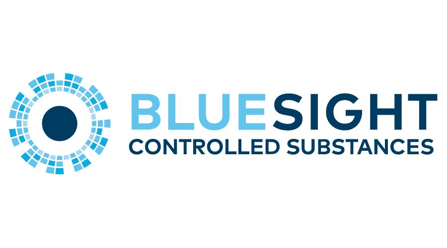 Bluesight Controlled Substances Logo Vector