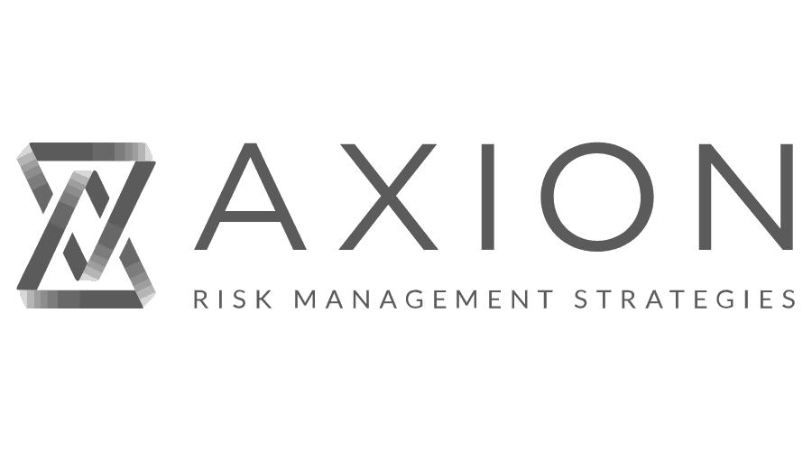 Axion Risk Management Strategies Logo Vector