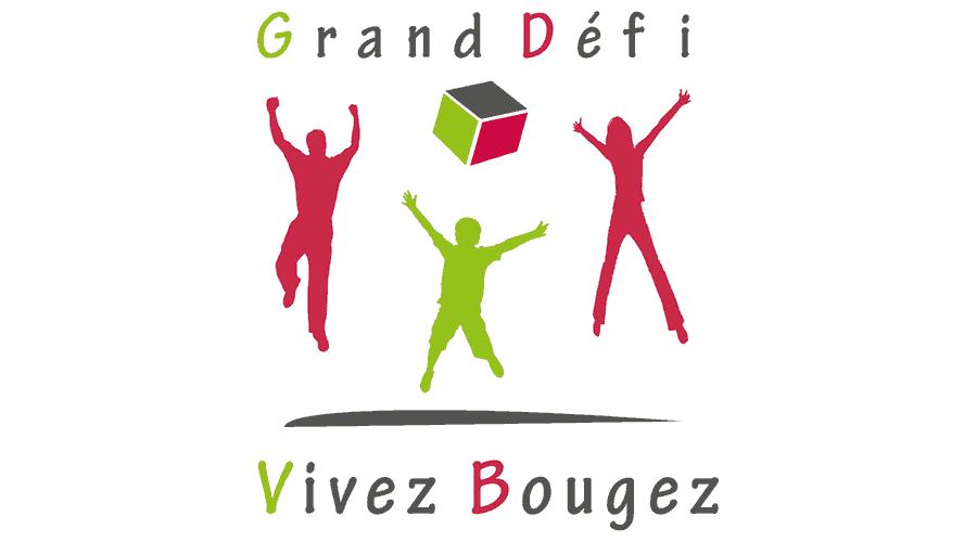 Grand Défi Vivez Bougez Logo Vector