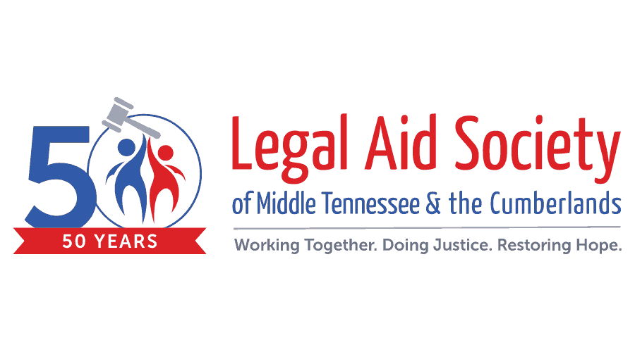 Legal Aid Society of Middle Tennessee and the Cumberlands (LAS) Logo Vector
