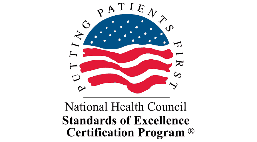 National Health Council Standards of Excellence Certification Program Logo Vector