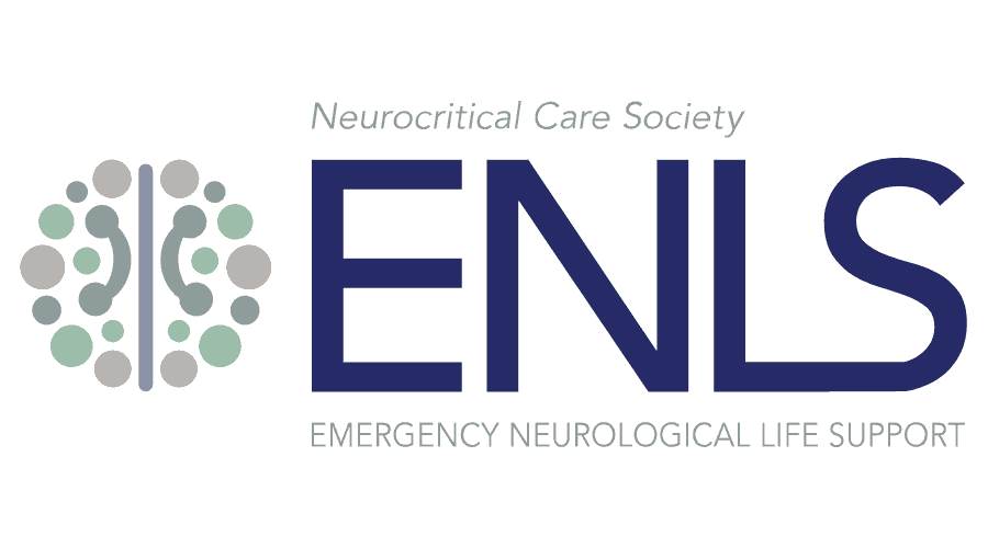Neurocritical Care Society Emergency Neurological Life Support (ENLS) Logo Vector