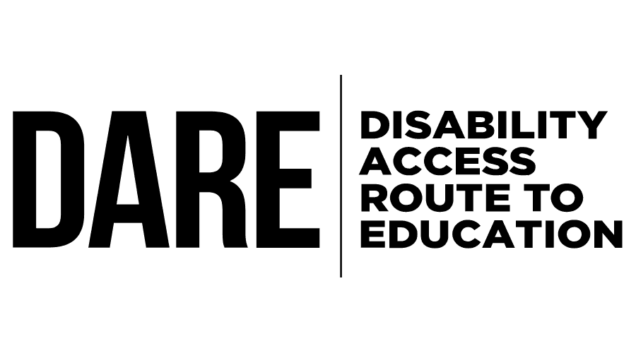 Disability Access Route to Education (DARE) Logo Vector