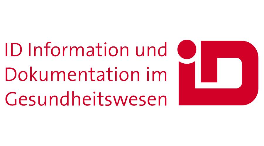 ID Information und Dokumentation im Gesundheitswesen Logo Vector