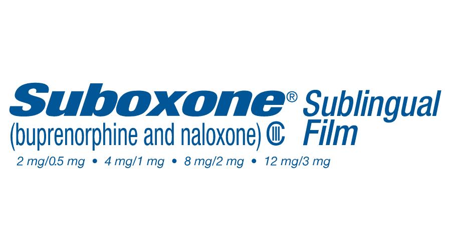 SUBOXONE (buprenorphine and naloxone) Sublingual Film (CIII) Logo Vector