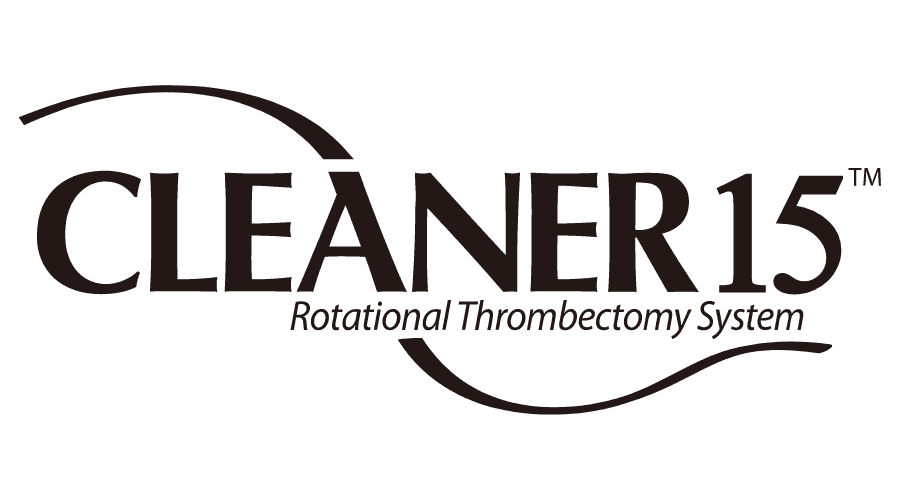 CLEANER 15 Rotational Thrombectomy System Logo Vector